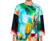 Продам эксклюзивное модное пальто Продам бесподобное пальто с модным цветным при