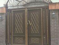 Металлические двери и ворота от производителя, Скидки Двери и ворота от производ