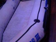 Продам надувную лодку Надувная лодка Навигатор 3. Б/у. 3+1. В компл. 2подушки, в