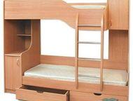 Продам двухъярусную кровать Продается б/у кровать «Ивкор» за символическую цену
