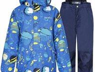 Комплект для мальчика Куртка и брюки синий IcePeak Финская одежда IcePeak предна