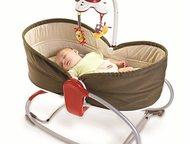 уютная люлька для малыша кресло-баунсер -Люлька-баунсер    Удобное переносное кр