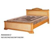 Кровати из натурального дерева от ООО Аванти Предлагаем Вам широкий ассортимент