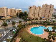 Недвижимость в Испании, Квартира с видами на море в Бенидорм Квартира с видами н