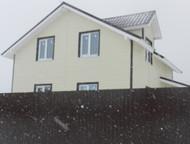 Новый дом ( дача коттедж) 10 соток «под ключ» ДПК Лесное д, Совьяки Новый дом (
