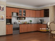 Кухонный гарнитур Классика-4 Угловой Размеры: 3500х1465    Материал: Корпус-ЛДСП
