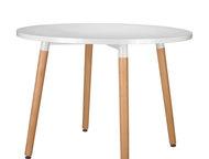 Дизайнерский обеденный стол Copine круглый (новый) Легендарный обеденный стол от