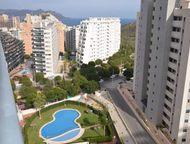 Недвижимость в Испании, квартира с видами на море в Бенидорме Квартира с видами