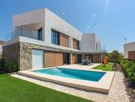 Недвижимость в Испании, Новые виллы в Бенидорм Современная вилла в элитном, охра