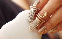 Модные кольца от магазина бижутерии Fashion-Bijou