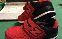 Кроссовки New Balance р, 35 новые 2 пары