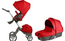 Stokke Xplory and Carrycot Package