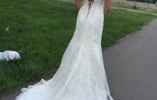 Новое свадебное платье с этикеткой