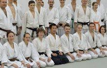 Открытый урок айкидо в школе Дасэйкан