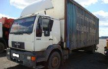 Продается грузовик Man 18, 224 бортовой грузовой тентованный с воротами, 2001 года выпуска