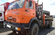 Продаю буровую установку на шасси Камаз 4326 2012-го года выпуска