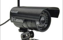 Распродаем Уличные IP камеры с возможностью подключения wifi