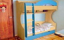Детская кровать 2-х местная Облачко 4