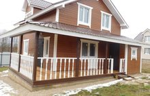 готовые загородные дома, поселок киевское шоссе