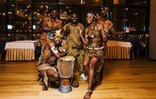 Шоу африканских барабанщиков, Санкт-Петербург