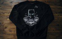 Коллекционный свитшот Бэтмен в уникальной упаковке