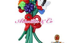 Букеты и цветы из воздушных шаров от студии Artwister