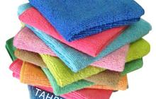 Салфетки из микрфибры для уборки автомобилей