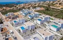 Недвижимость в Испании, Новая вилла с видами на море от застройщика