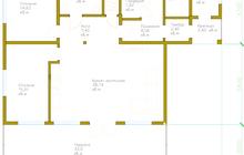Продается двухэтажный дом в поселке Фаворит, на территории Н