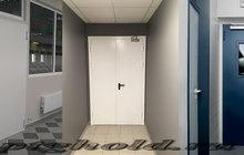 Дверь противопожарная металлическая однопольная