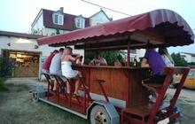 Передвижной бар, бирбайк, велобар