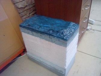Увидеть изображение Строительные материалы Мини завод по 4-х слойн, теплоблокам и строймат, под мрамор Кремнегранит 26625581 в Москве