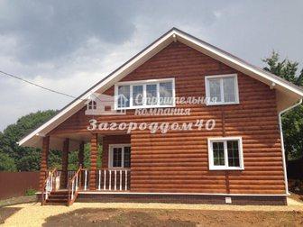Новое foto Загородные дома Загородный коттедж на участке 15 соток Калужское шоссе 28979524 в Москве