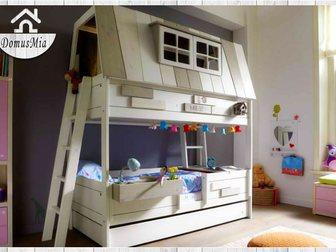 Уникальное фотографию Мебель для детей Качественная детская мебель из дерева, 32330444 в Москве