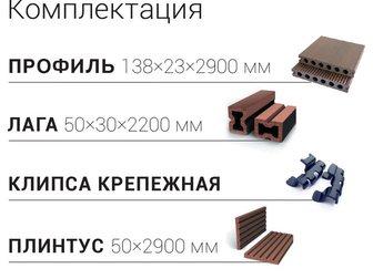 Новое фотографию Отделочные материалы Террасная доска Legro ultra, Naturale, 32491475 в Москве