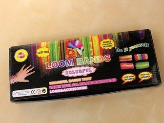 Уникальное фотографию Детские игрушки Набор для плетения Rainbow Loom Band от loomnsk 32555683 в Новосибирске
