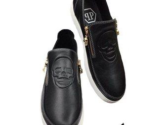 Скачать фотографию Мужская обувь Туфли Philipp plein 32605042 в Москве