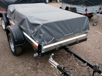 Скачать фото Прицепы для легковых авто Прицеп для легкового авто Курган КМЗ-8284-20 32622508 в Москве