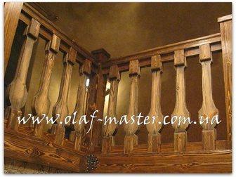 Уникальное фотографию Производство мебели на заказ Лестницы из массива дерева на заказ 32629262 в Москве