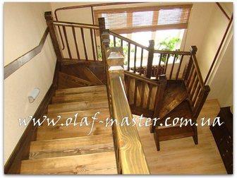 Новое фотографию Производство мебели на заказ Лестницы из массива дерева на заказ 32629262 в Москве