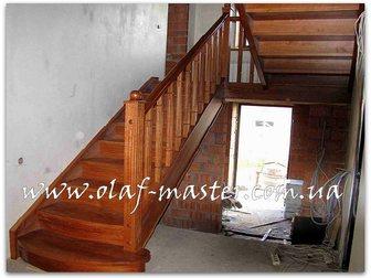 Смотреть foto Производство мебели на заказ Лестницы из массива дерева на заказ 32629262 в Москве