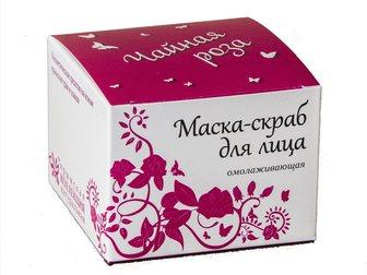 Уникальное фото Косметика Маска-Скраб для лица (5 видов), Опт, розница 32643071 в Москве