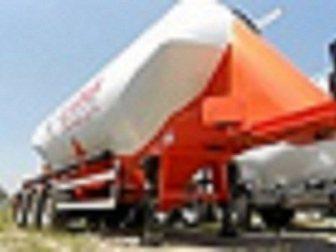 Новое изображение Цементовоз Алюминиевый цементовоз GuteWolf 32671611 в Москве