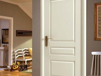 Новое foto  Межкомнатная дверь Европан, ЭКО-шпон, Classico, Лондон 1, Белый, 32674509 в Москве