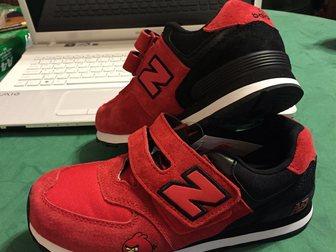 Увидеть фотографию Детская обувь Кроссовки New Balance р, 35 новые 2 пары 32701190 в Москве
