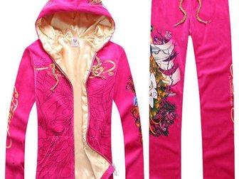 Смотреть фотографию Женская одежда Спортивный костюм ED Hardy Peacock 32874919 в Москве