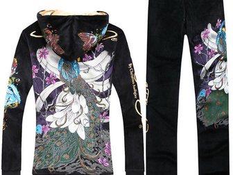 Смотреть изображение Женская одежда Спортивный костюм ED Hardy Peacock 32874919 в Москве