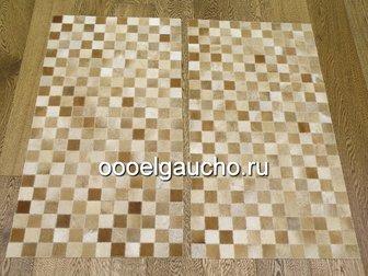 Увидеть изображение Ковры, ковровые покрытия Прикроватные коврики из шкур коров 32884028 в Москве