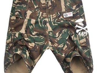 Просмотреть foto Мужская одежда Шорты Aape Bape Street 32919998 в Москве