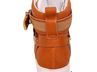 Уникальное фотографию Мужская одежда Сникерсы Versace Leather Medusa High-Tops 2 32968639 в Москве